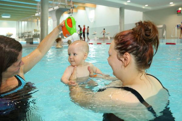 Babyschwimmen 3 - 7 Monate blu